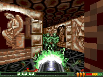 Amiga fikk noen kule førstepersons skytespill etter hvert.