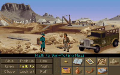 Indiana Jones må stadig banke nazister.