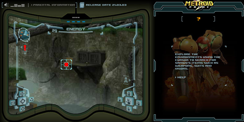 Metroid Prime Flash