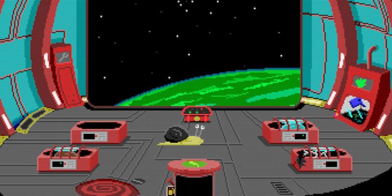 Snail Trek Chapter 1 Intershellar
