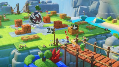 Mario + Rabbids: Kingdom Battle.