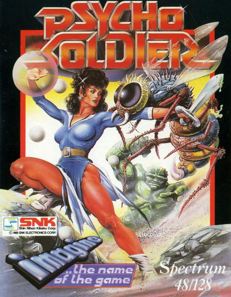 Nok et actionfylt bilde for et actionfylt spill. Som du kanskje legger merke til, er svært mange av disse spillene konversjoner av japanske arkadespill – dette var noe av det Ocean hadde mest suksess med på åttitallet.