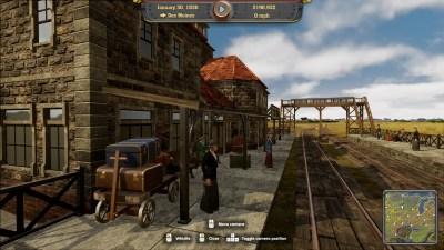 Railway Empire togstasjon