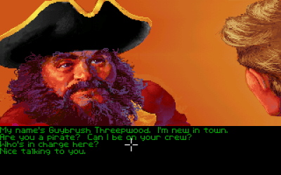 En av de lokale piratene.