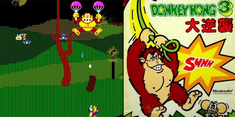 donkey kong 3: the great counterattack