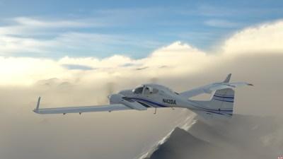 Flight Sim World er ganske pent.