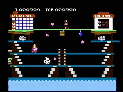 Skjermbilde fra NES-versjonen. Bilde: Mobygames.