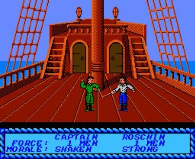 Sid Meier's Pirates på NES.