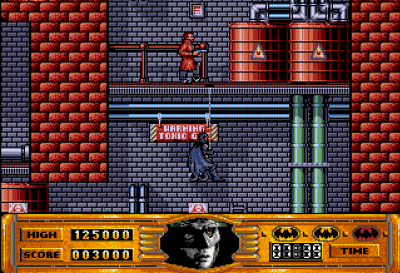 Amiga-versjonen har varmere farger.