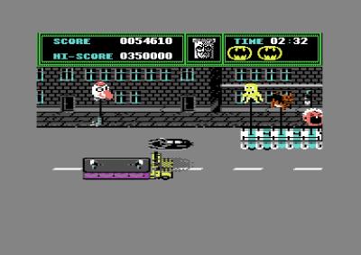 Flysekvensen på Commodore 64.