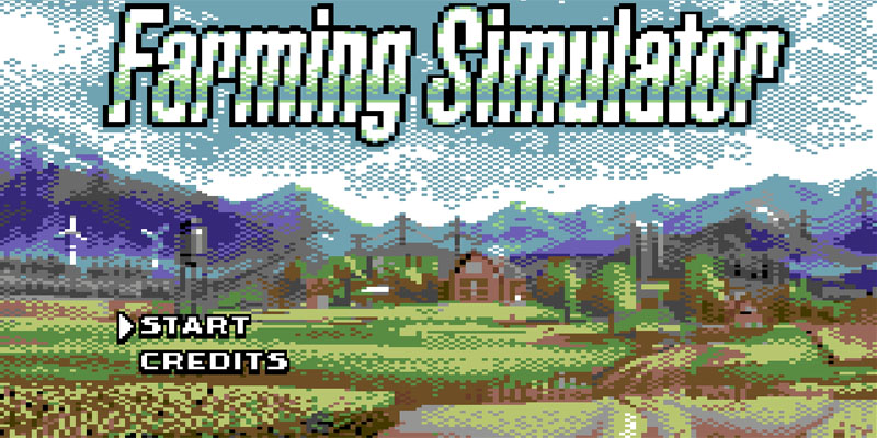 farming simulator commodore 64