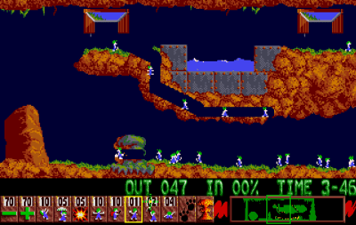 Ah, Lemmings!
