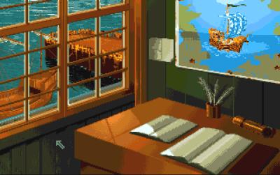 Kontoret ditt i The Patrician (på Amiga).
