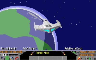 MS-DOS-versjonen. Bilde: Mobygames.