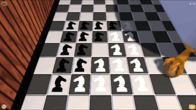 Av de tre sjakknøttene i spillet, var det denne jeg likte best.