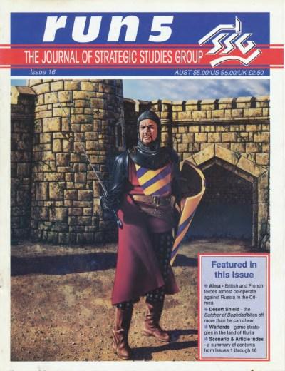 SSG hadde et eget blad der de blant annet skrev spilldagbøker fra utgivelsene sine. Warlords havnet på en av forsidene.