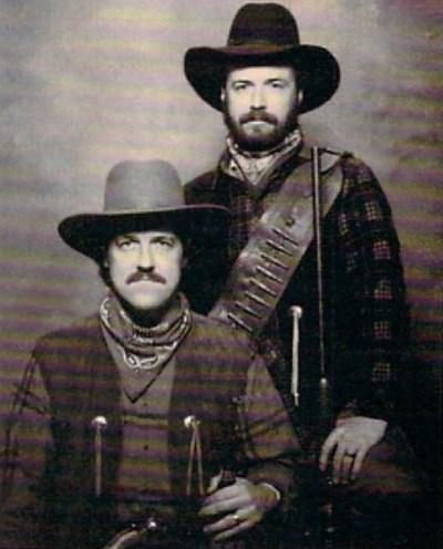 Bruce Carver (t.v) og broren Roger, i 1887. Pluss minus hundre år.