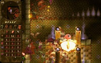 Spillet er veldig «brunt», men det har flotte lyseffekter.