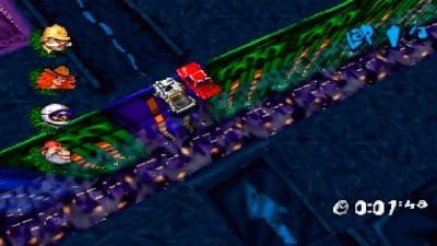 Syntes ikke det ser ut som man får så veldig god utsikt over veien i dette spillet.