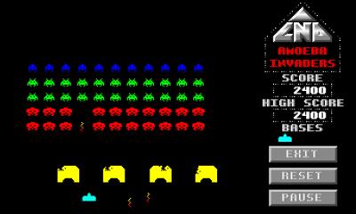 Amoeba Invaders – kjent konsept, kjent innpakning.