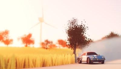 Vroom! Spillet har både reprisefunksjon og egen kameramodus.