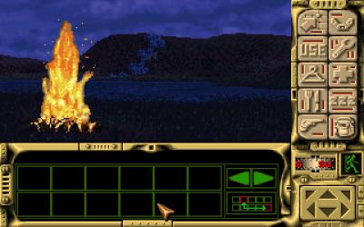 Når det blir mørkt og kaldt er det greit med et bål (selv om jeg anbefaler at du gjør opp ild i ei hule, så du slipper at et plutselig regnskyll ødelegger alt).