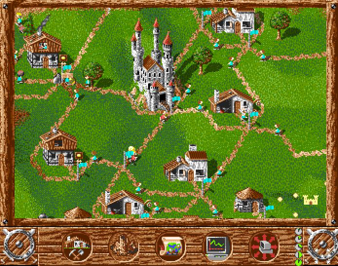 The Settlers. En klassiker, men neppe et spill som dukker opp på systemet.