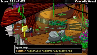 Grafikken er inspirert av EGA-modus.