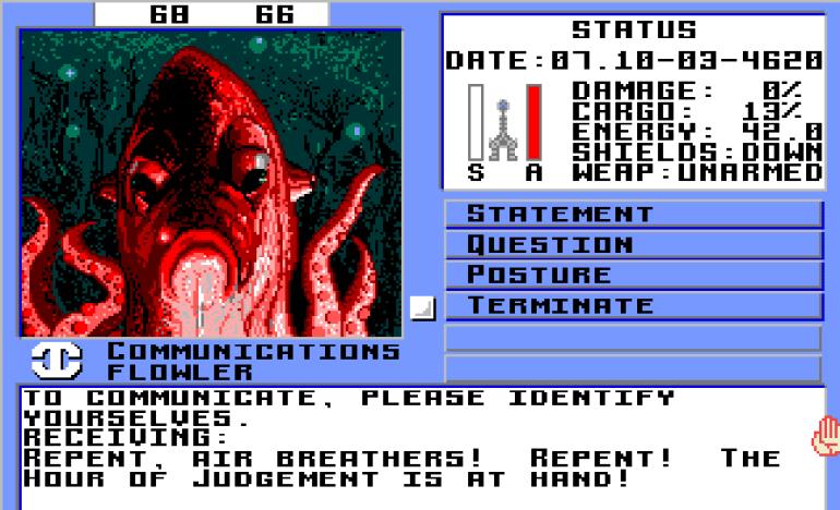 Disse blekksprut-/fiskefolkene mener at det å puste luft er en stor synd, som må straffes med døden.