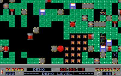 Spillet foregår inne i en datamaskin. Bilde: Mobygames.