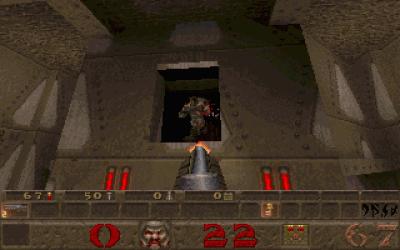 Quake er stemningsfullt og ... sabla brunt, egentlig.
