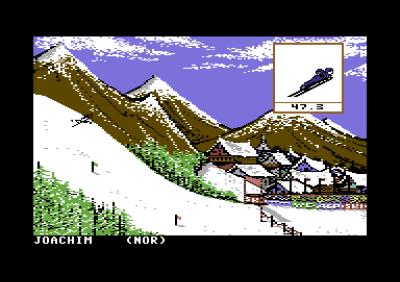 Dette spillet er fra før V-stilen ble populær.