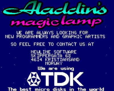 Jau, TDK-disketter var ganske gode.