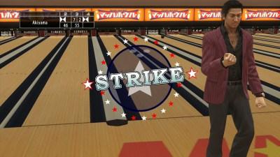 Bowlingspillet Yakuza 5 Remaster.