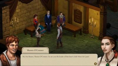 Spillet følger tyven Shawn O'Connor gjennom femti dager på (og under) skolen.