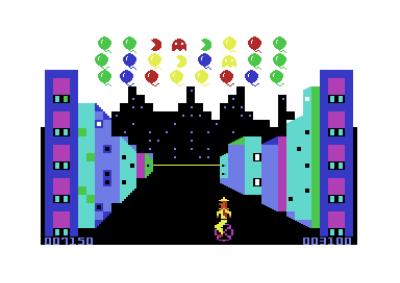 Pac-Menn og spøkelser.