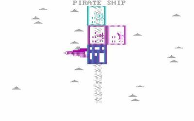 Skjermbilde fra GOG. Forhåpentligvis kan man tvinge DOSBox over i komposittmodus når man spiller, for å få litt flere farger.