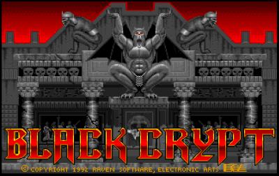 Før Hexen og Heretic kom Black Crypt.