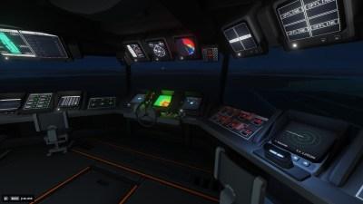 Alt av instrumenter og paneler er interaktive, og må brukes i spillet.