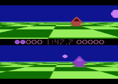 Ballblazer på Atari 8-bit. Bilde: Mobygames.
