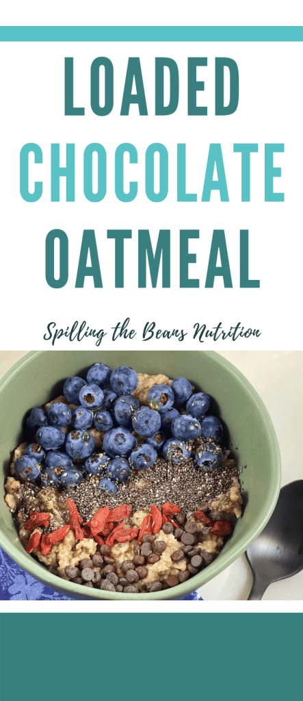loaded chocolate oatmeal pinterest
