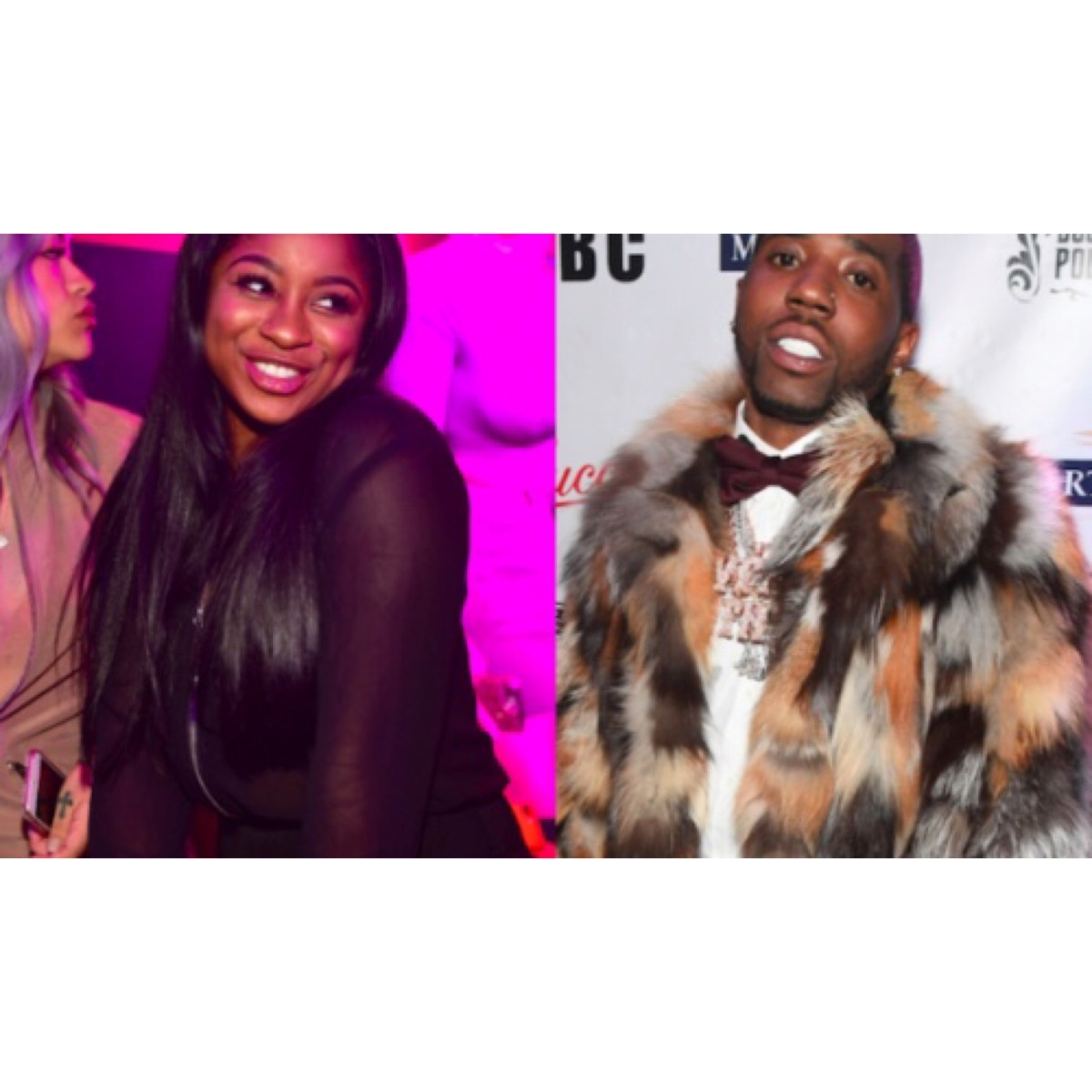 Reginae Spotted out in LA with Yfn Lucci