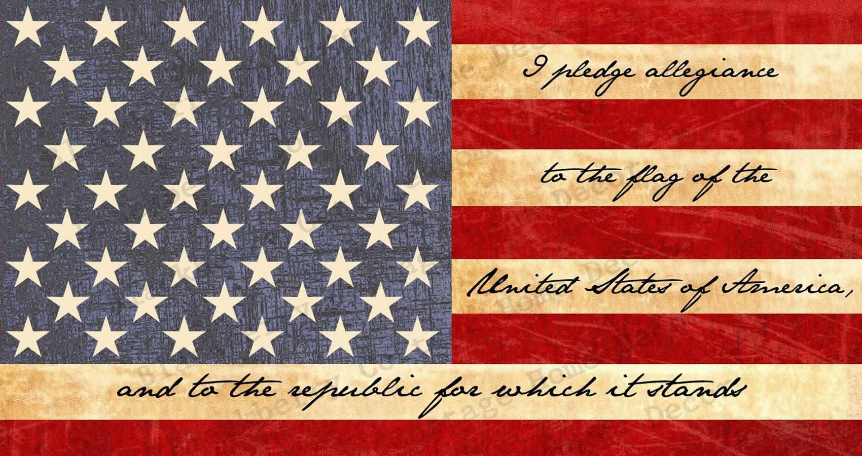 The Pledge Of Allegiance Spillwords