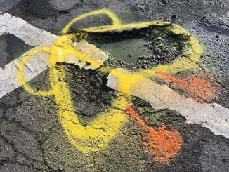 Painted Pothole Large 2020
