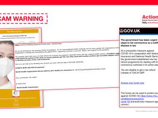 Scam Warning - Coronavirus