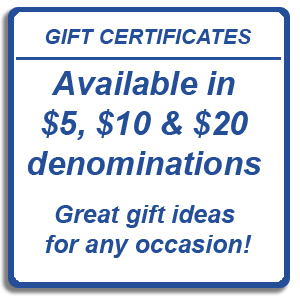 Spin-it Records & Video Gift Certificates
