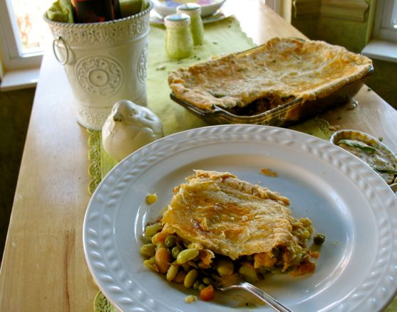 Beef and Bean Pie by Angela Roberts