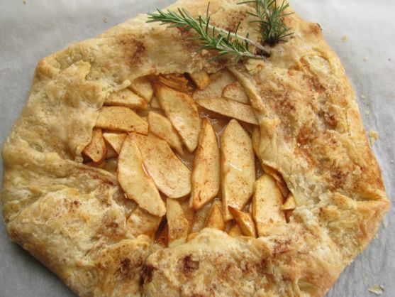 Best apple desserts: Apple galette from Spinach Tiger