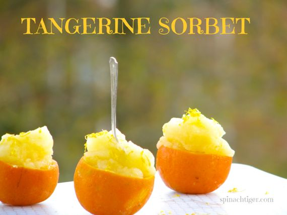 Tangerine Sorbet and How to Roast Chestnuts by Angela Roberts