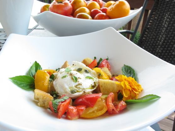 Tomato Panzanella by Angela Roberts